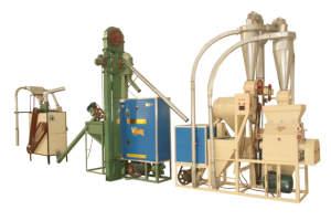 6FW-12A 日产12吨杂粮制粉机组