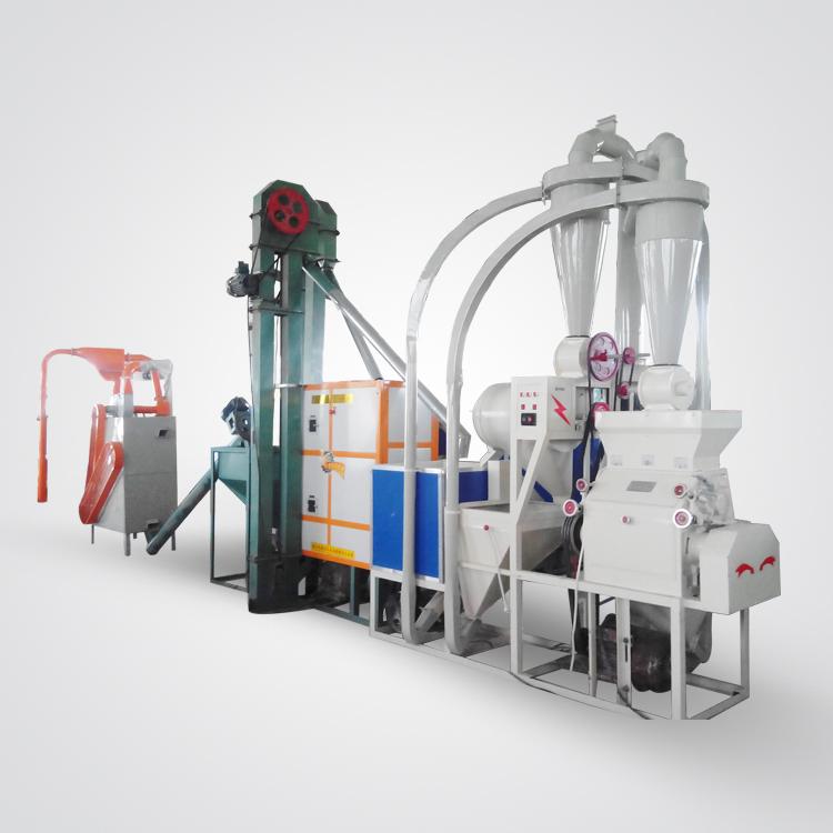 6FW-P12A 日产12吨玉米杂粮制粉机组