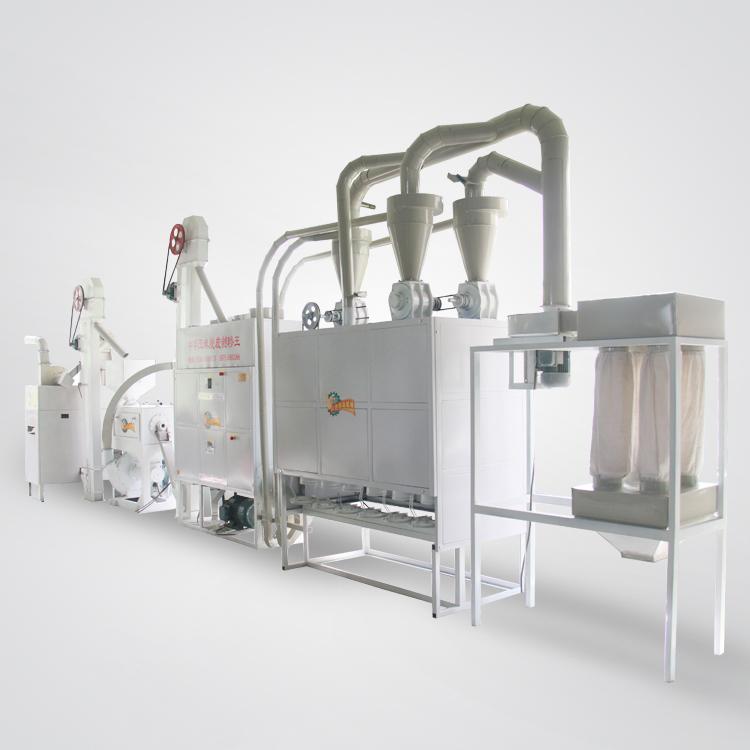 6FW-D4A型日产12吨加工制糁机组(新款)